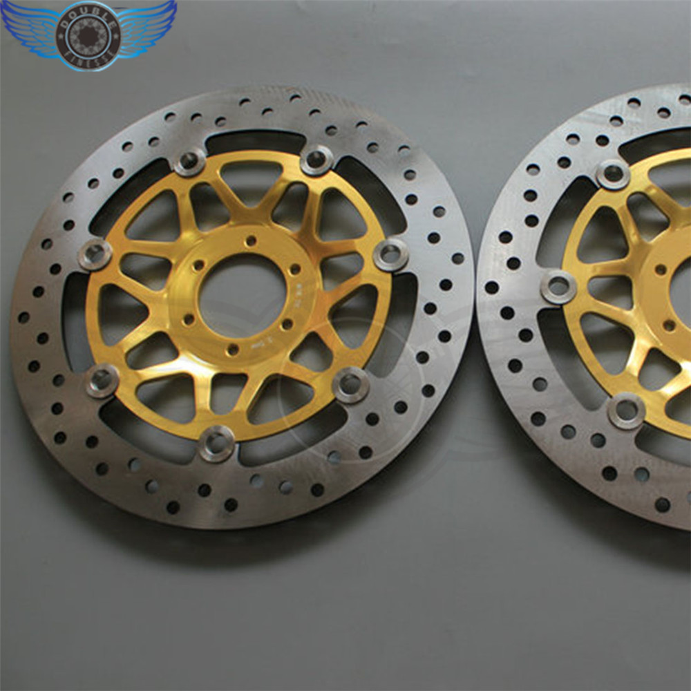 new 2 pieces of  motorcycle  Front Brake Discs Rotor   For Honda CB400 1999 2000 2001 2002 2003 2004 2005 2006 2007 2008 2009 new brand motorcycle accessories front brake disc rotor for honda cb400 1999 2000 2001 2002 2003 2004 2005 2006 2007 2008 2009