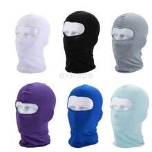 Full Face Mask Ski Mask Winter Cap Balaclava Hood Army Tactical Mask 3Hole Bicycle Helmet Liner Tactical Paintball Hat Bike Mask цена