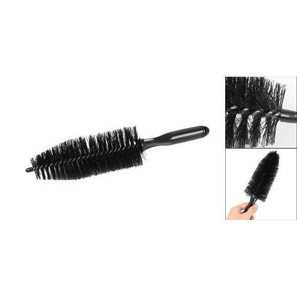 TOYL Black Truck Car Tire Rim TaPered Brush Cleaning Tool 13.6