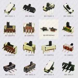 20PCS Mini Slide Switch On-OFF Micro Toggle Switch 1P2T H=1.5/2/4MM Miniature Horizontal Slide Switch SMD/DIP(China)