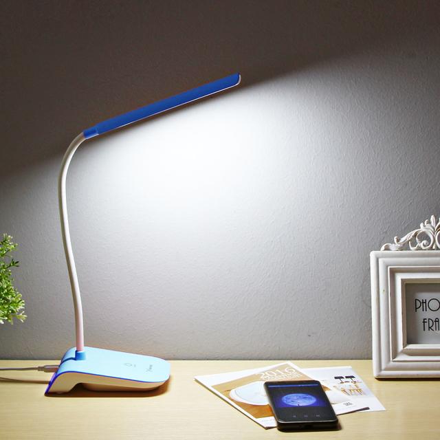 Yage livro luz noite lâmpada de leitura luz usb 22 led desk clipe lâmpada luzes led interruptor do toque da lâmpada com clip Removível flexão lâmpada