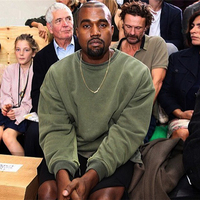 Kanye west sweater sets of retro loose cotton round neck long sleeved t shirt couple men and women