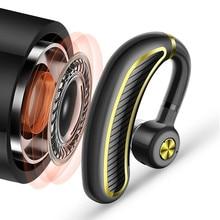 Bluetooth słuchawka z mikrofonem 24 godzin czas rozmowy bezprzewodowy zestaw słuchawkowy, odporny na pot sportowe słuchawki douszne długotrwały słuchawki