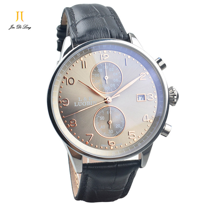 Top Luxury Brand Men's Quartz Watch Men Watches Leather Strap Fashion Clock Mufti-function Sports Shock Wristwatches Xmas Gift xinge top brand luxury leather strap military watches male sport clock business 2017 quartz men fashion wrist watches xg1080