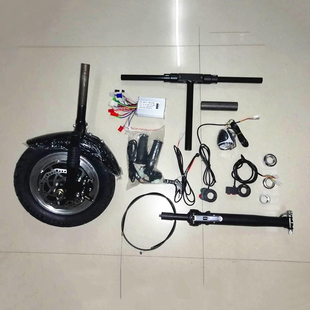 MEIANDIAN 36 V/48 V 350 W kit de Conversion de fauteuil roulant pliant vélo bricolage 12 pouces