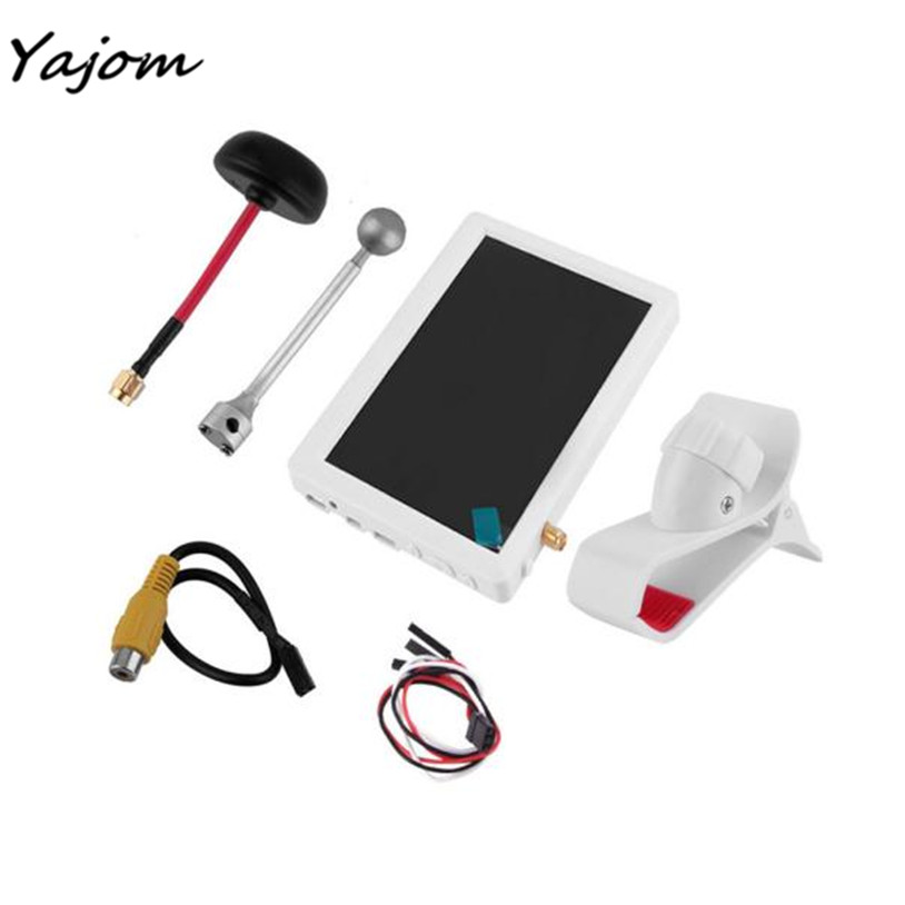Free For Shipping 5-inch Super Bright Snow Screen FPV Aerial Transmitter for Sharp Vision Brand New High May 16 free shipping 7 inch fpv display screen aerial lcd screen snow uav image transmission in wireless 5 8g receiver