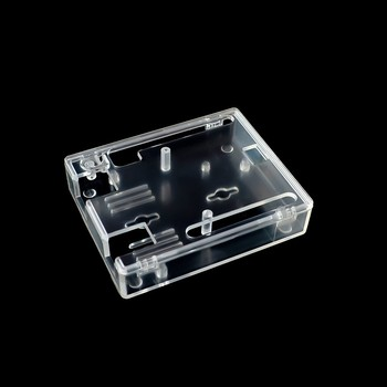 Thinary Electronic One set Transparent Box Case Shell for Arduino UNO R3