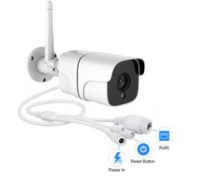 Image 4 - كاميرا واي فاي لاسلكية 5 ميجابكسل H.265 IP كاميرا كشف حركة الصوت كاميرا IP كاميرا خارجية تعمل بالواي فاي IR رؤية ليلية 32 جيجابايت بطاقة ONVIF P2P Camhi