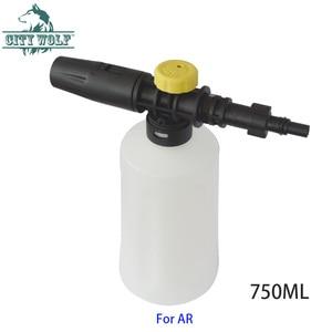 Image 3 - City wolf high pressure washer 750ML snow foam lance for bosch AQT AR Interskol Makita car washer auto car accessory