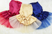 New puppy skirt teddy poodle chihuahua cat spring/summer little princess dress style clothes