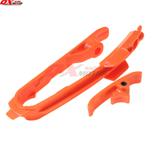 цена на Orange Chain Slider Slide Guide Fit KTM SX SXF 125 150 200 250 350 450 525 2011-2015 Dirt bike MX Motorcross Free Shipping