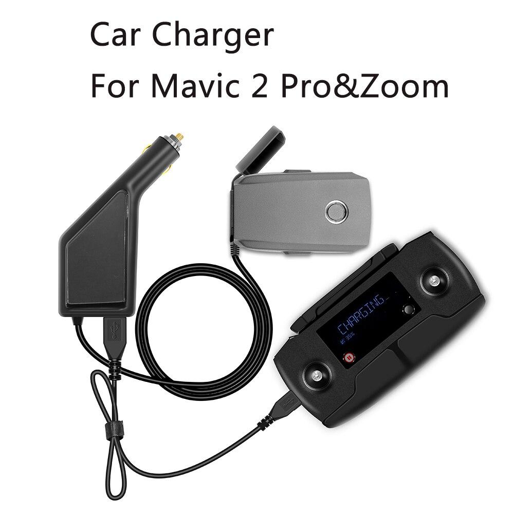 все цены на Car Charger For DJI Mavic 2 Pro Zoom Intelligent Battery Charging Hub Mavic 2 Pro Car Connector USB Adapter Battery Car Charger онлайн