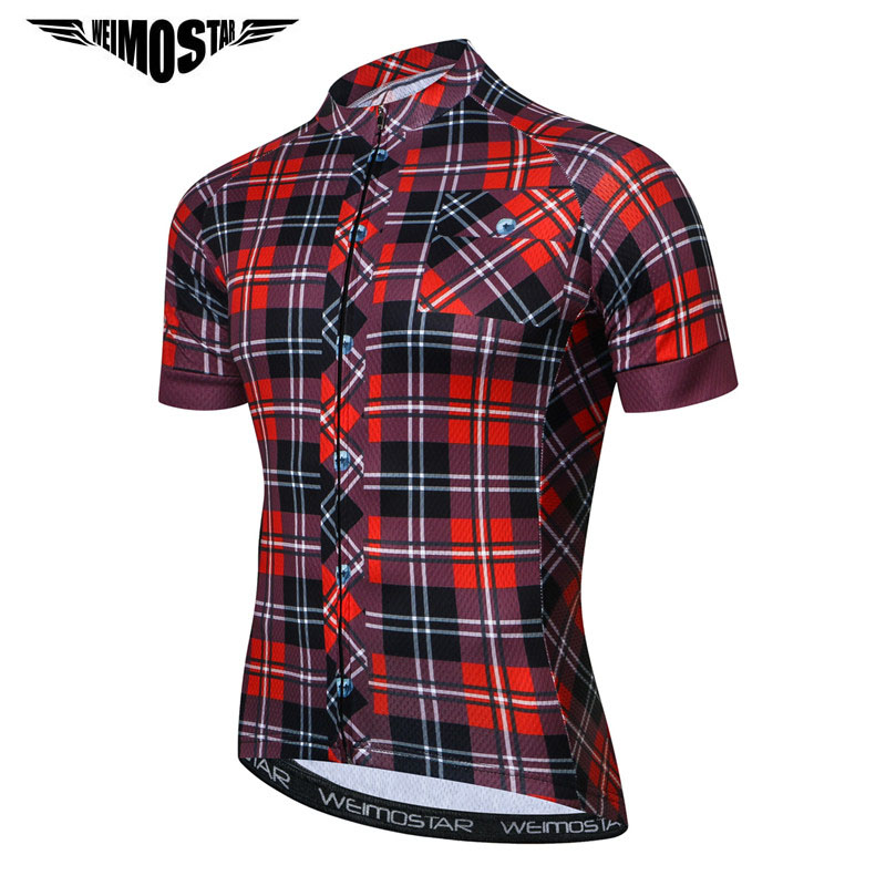 Weimostar 2019 Pro Team Cycling Jersey MTB Bicycle Clothing Summer Short Sleeve Bike Jersey Clothes Quick Dry Cycling Clothing