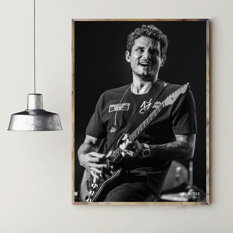 John Mayer Cool Painting: John Mayer Music Star Art Silk Poster Prints Home Wall