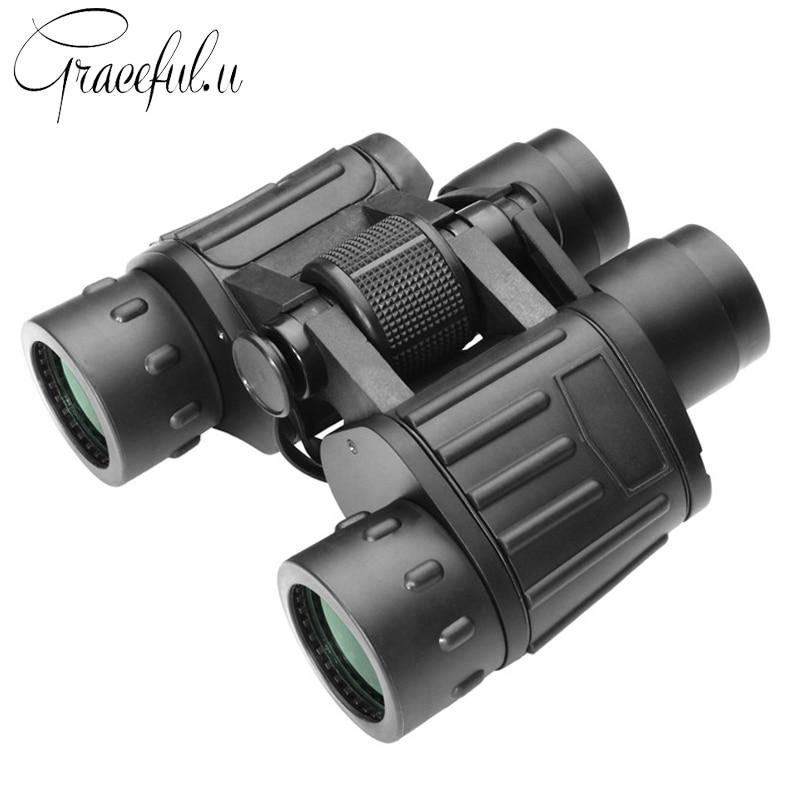 Professional HD Hunting Binoculars High Quality FMC Multi-Coated Binocular Wide Angle Zoom Telescope Night Vision Binoculars hunting binoculars professional telescope zoom wide field vision hd binoculars high power telescope outdoor