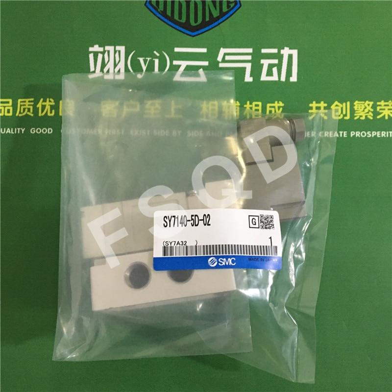 SY7140-5DE-02 SY7140-5D-02 SMC Solenoid valve with disc pneumatic components solenoid valve quality pneumatic components smc solenoid valve sy7220 5lzd 02