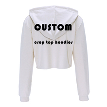 Trendy Short Personalized Custom-Made Women's Hoodie