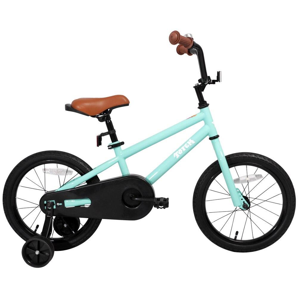 Vélo enfants pour filles et garçons, roues d'entraînement pour 12 14 16 pouces vélo, béquille pour 18 pouces vélo enfant vélo enfants bébé vélo - 4