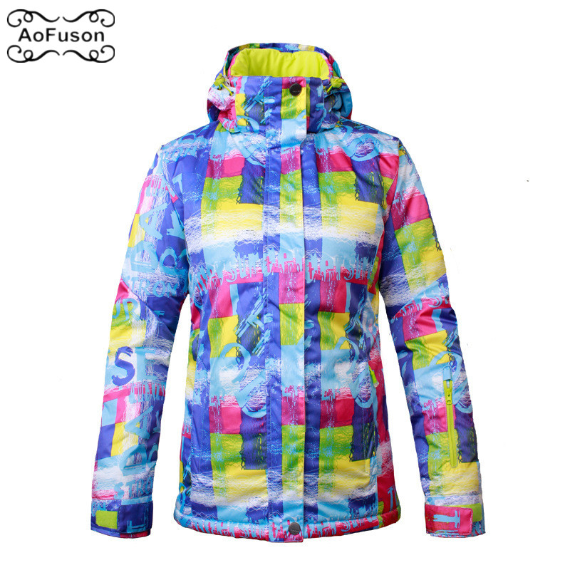 Professional Ski Snowboard Jacket Snow Windproof Waterproof Warm Hiking Clothes Coat Breathable Professional Skiing Jacket Women