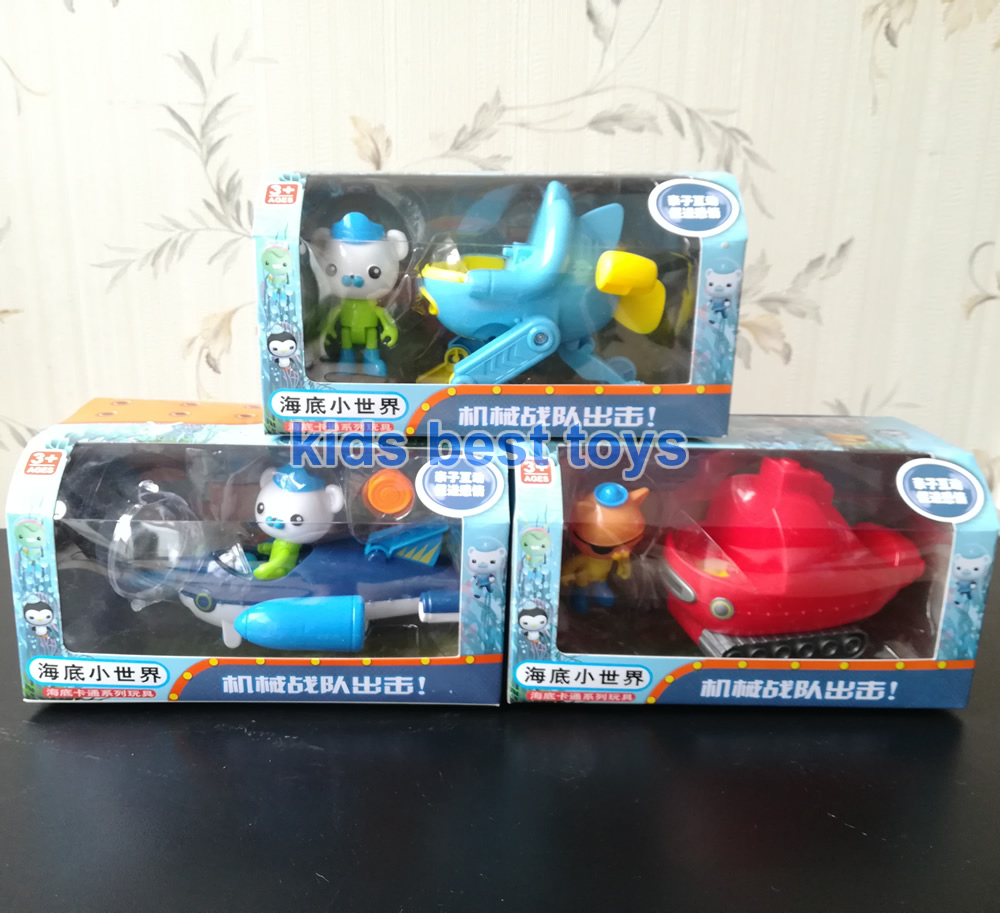 Toys & Hobbies Able Octonauts Toys Submarines Gup-a Boats Whale Boat With Figures Captain Barnacles Kwazi Baby New Year Gift