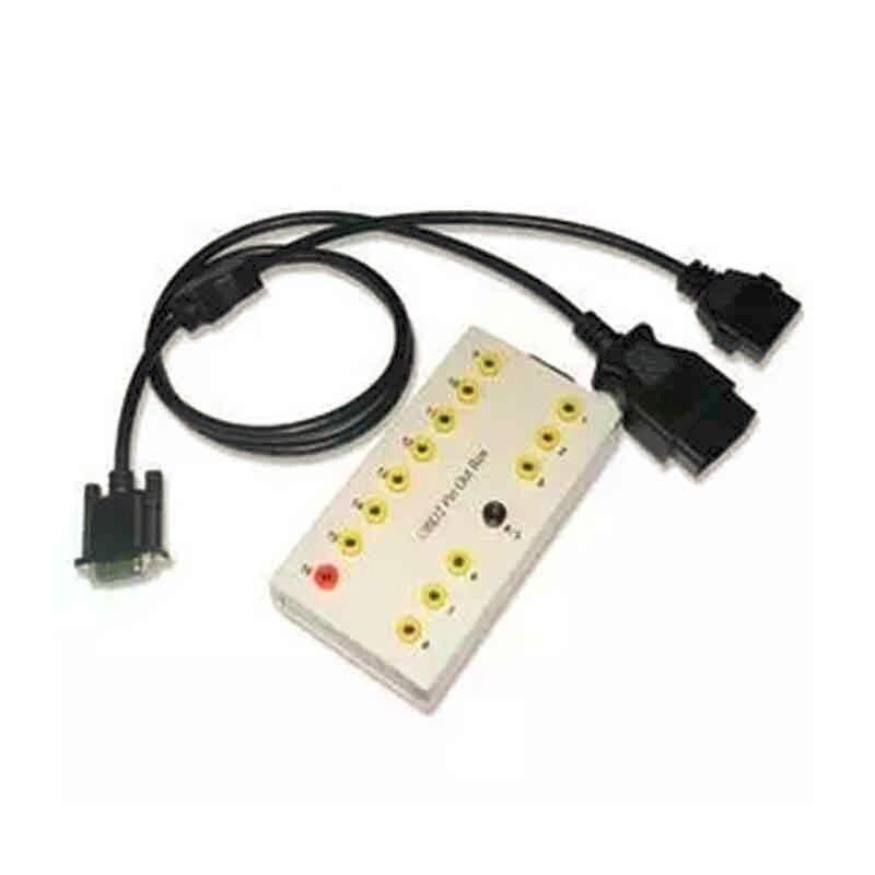 Цена за Завод горячей продажи автомобиля диагностический кабель Obd2 Булавки из коробки Breakout тестер авто разъем инструмент автоматического ремонта LR10