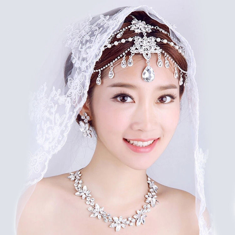 indian head chain hair jewelry bridal hair accessories for