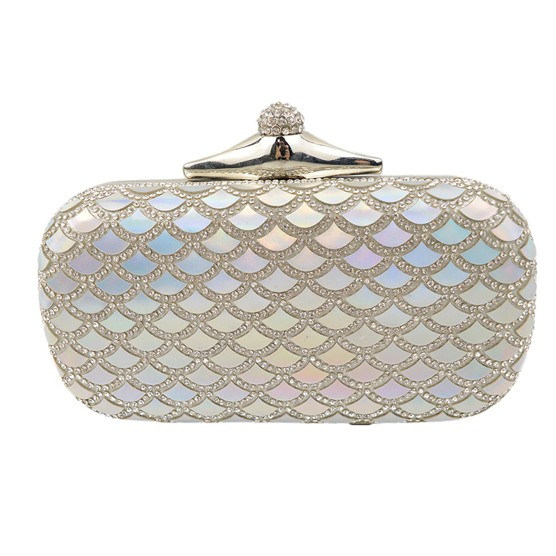 цены  Rhinestone Women Bag Clutch Evening Bags Black/ Silver/ Glod Cosmetics Case Small Purse Bag For Wedding/Party/Diner