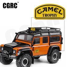 1/10 Metal Sticker Camel Trophy Badge LOGO For 1/10 RC Crawler Car Land Rover Defender Traxxas TRX4 RC4WD D90 D110