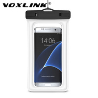 VOXLINK Waterproof Mobile Phones Pouch Case Cover Universal Transparent Armband Pouch Bag For Iphone Samsung S8