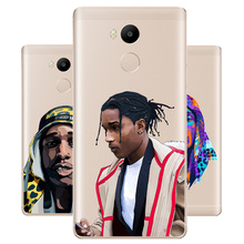 DREAMFOX M382 Asap Ferg  And Rocky Soft TPU Silicone Case Cover For Xiaomi Redmi Note 3 4 5 Plus 3S 4A 4X 5A Pro Global