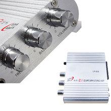 Amplifier 12V 200W HiFi Amplifier CD MP3 Radio Car Auto Motor Boat Home Audio Stereo Bass Speaker AMPLIFIER BOOSTRER Vehicle