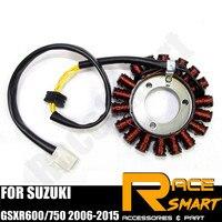 Motorcycle Generator Stator Coil For SUZUKI GSXR 600 750 2006 2015 Motor Coil Magneto Copper GSXR600R GSX750R GSXR 600 GSXR