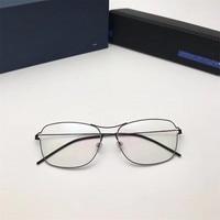 c46934aa4 Air Rim Square Screwless Glasses Frames Men Myopia Reading Computer  Eyeglasses Spectacles Women Oculos De Grau