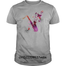 d4c1ed70 Funny t shirt Women novelty tshirt Stylish colorful music saxophone  background s Mens