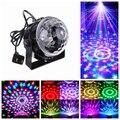 Голосовое Управление RGB LED Этап Лампы Кристалл Magic Ball Звук Управления Лазерная Этап Эффект Света Партии Дискотека DJ Light