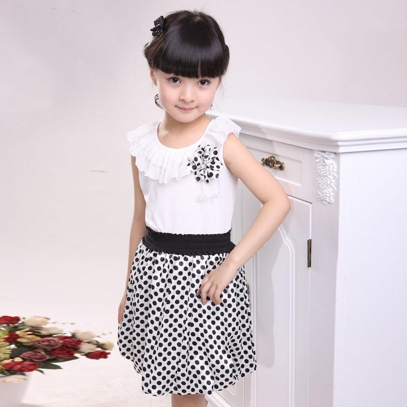 3cb6c4ed3eb4 2015 new summer small little princess tutu veil girl dresses Korean ...
