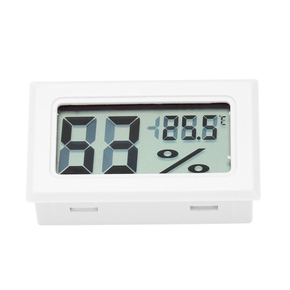 Professzionális mini digitális LCD hőmérő, nedvességmérő, - Mérőműszerek - Fénykép 2