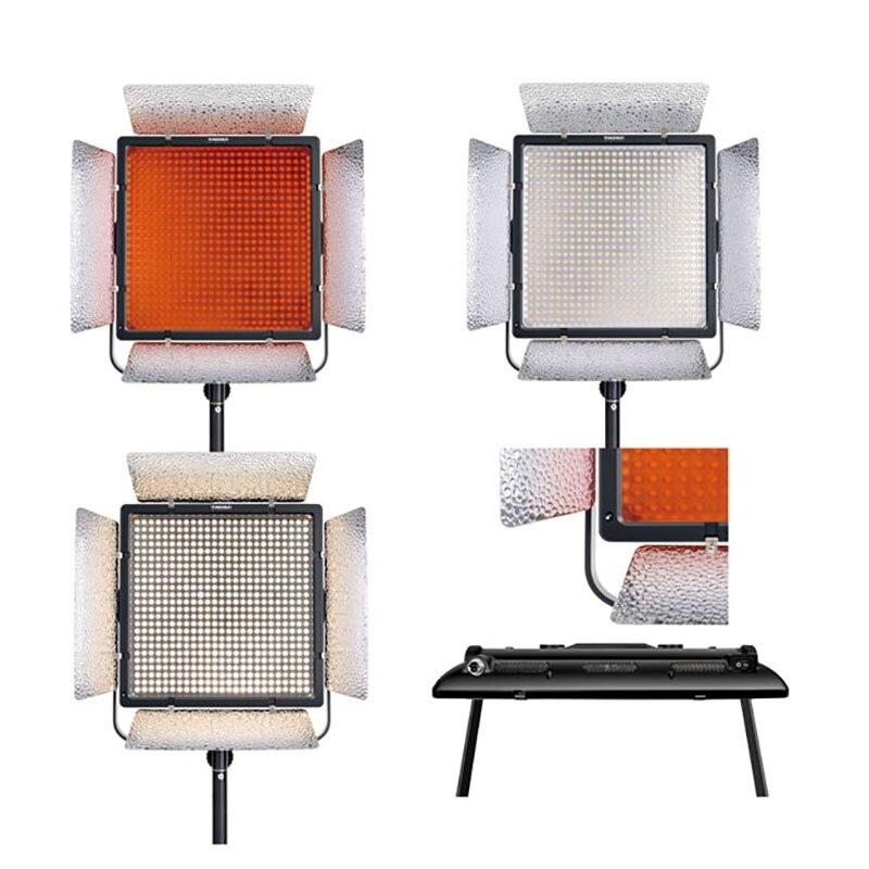 YONGNUO YN900 II 3200 K-5500 K LED éclairage équipé support en forme de U 360 degrés lumière de remplissage pour la photographie professionnelle