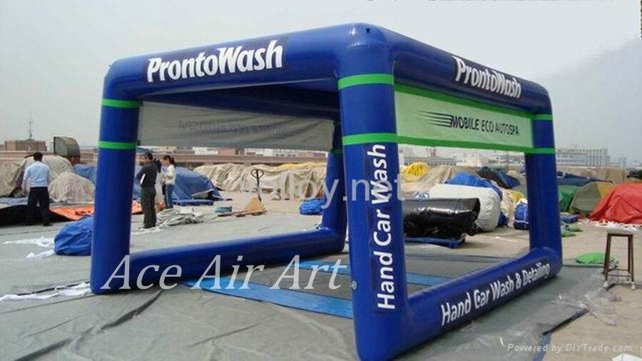 Stand gonflable de tente de lavage de voiture de fournisseur de la chine pour la promotion