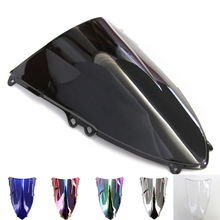 6 Colors Windshield Screen Protector Double Bubble For Ducati 1199  2012 2013 Airflow Windproof Deflector