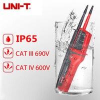 UNI T UT15C Waterproof Type Voltage Testers IP65 Type Voltage Testers voltmeter Indication 50Hz~ 400Hz Frequency