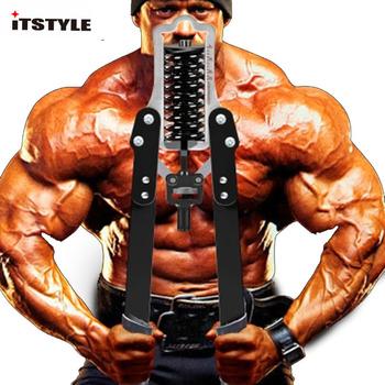 Siła ramienia klatka piersiowa chestexpander sprzęt do ćwiczeń domowych ramię pręt regulowana prędkość ramię trener mięśni klatki piersiowej 50kg tanie i dobre opinie ITSTYLE 60 kg Mięśni relex aparatura