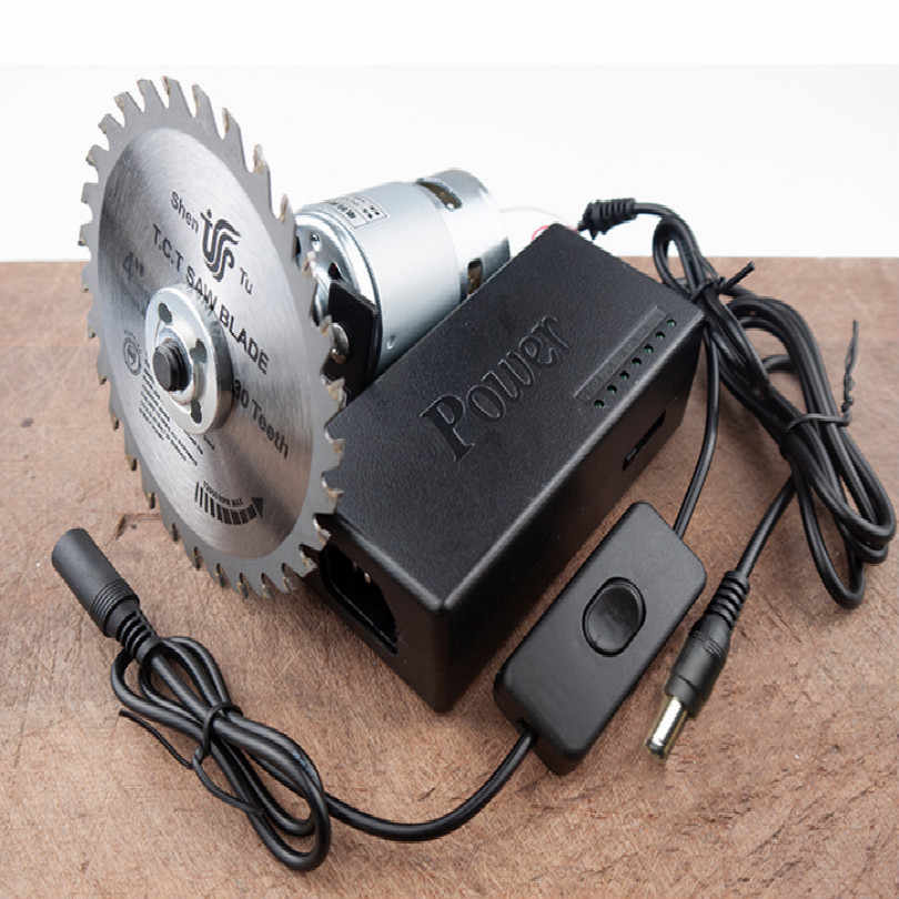 220-240V 80W Sierra Circular Mini Table Saw Circular Saw Meja Diy Mesin Woodworking Logam Aluminium Alloy PVC Acrylic Cutter