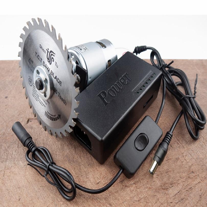 220-240V 80W sierra mini scie circulaire table de scie circulaire bricolage machines à bois métal aluminium alliage acrylique PVC CUTTER
