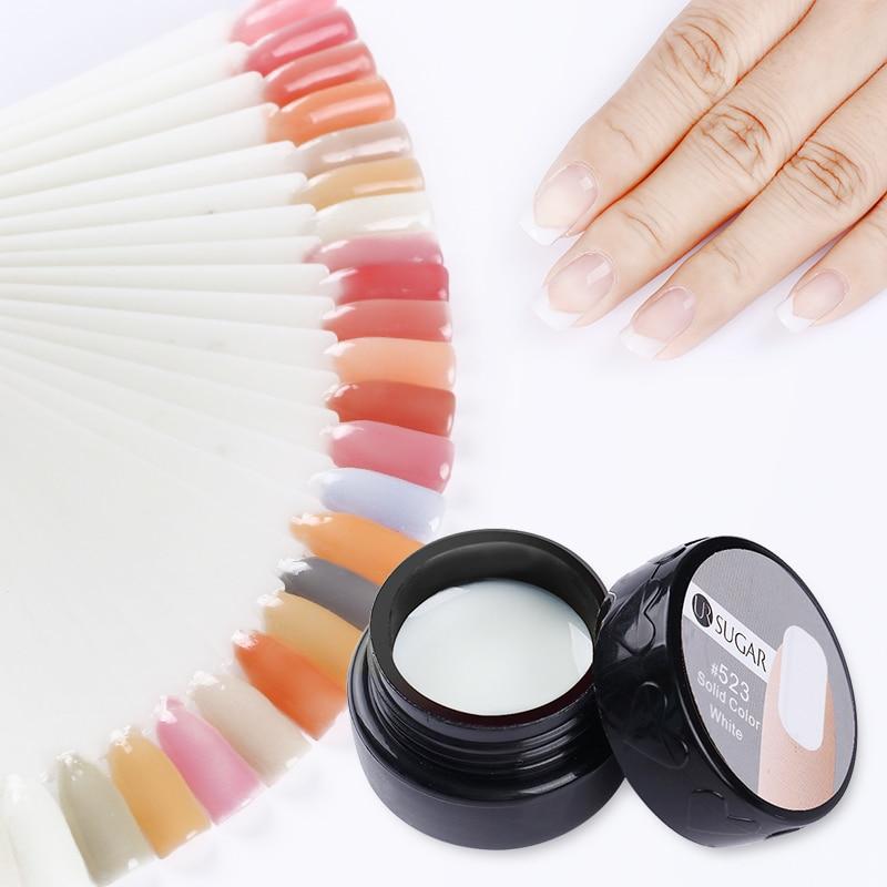 UR SUGAR 7ml Semi-transparent Nail Builder UV Gel Nail Tips Extension Glue Nail Art UV Builder DIY Extend Tools