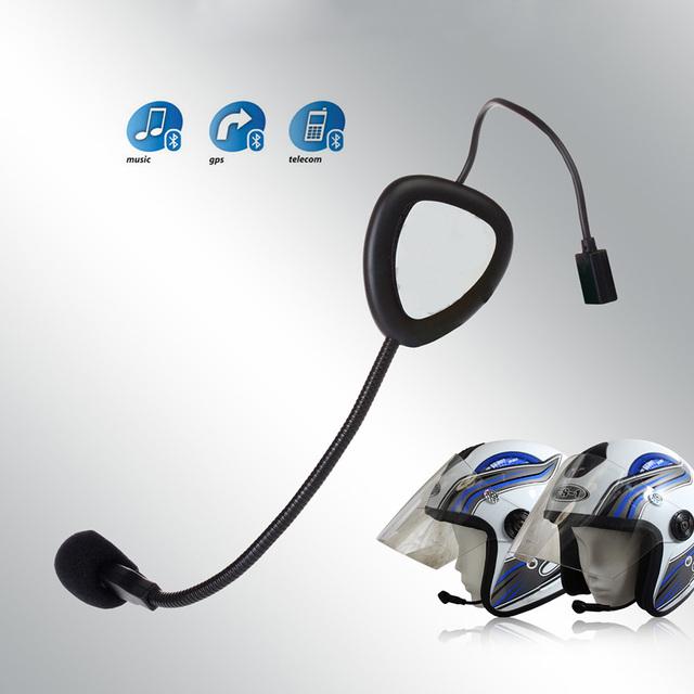 V1-1 Bluetooth Headset Casco de La Motocicleta Para El Teléfono/Música/MP3 del Bluetooth de La Motocicleta Del Intercomunicador Del Interphone Bluetooth Casco 2.1