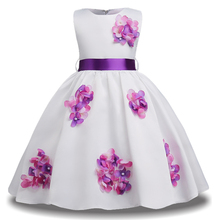 Teen Girl Kids Bridesmaid Wedding Flower Girls Dress Party Dresses Children Princess Dresss Teenage Girls Clothing 10 12 14 Year