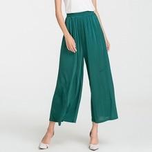 nueve femeninos pantalones cintura