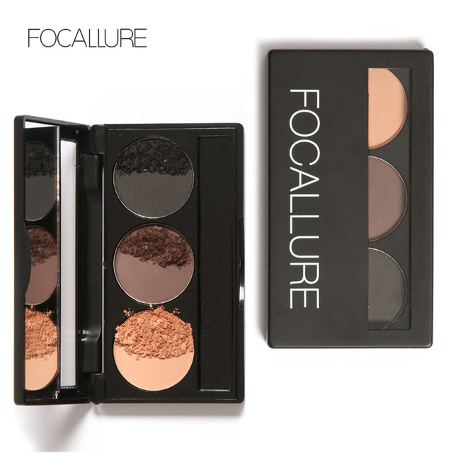 Aliexpress Buy Focallure Eye Brow Eyebrow Powder Makeup Kit