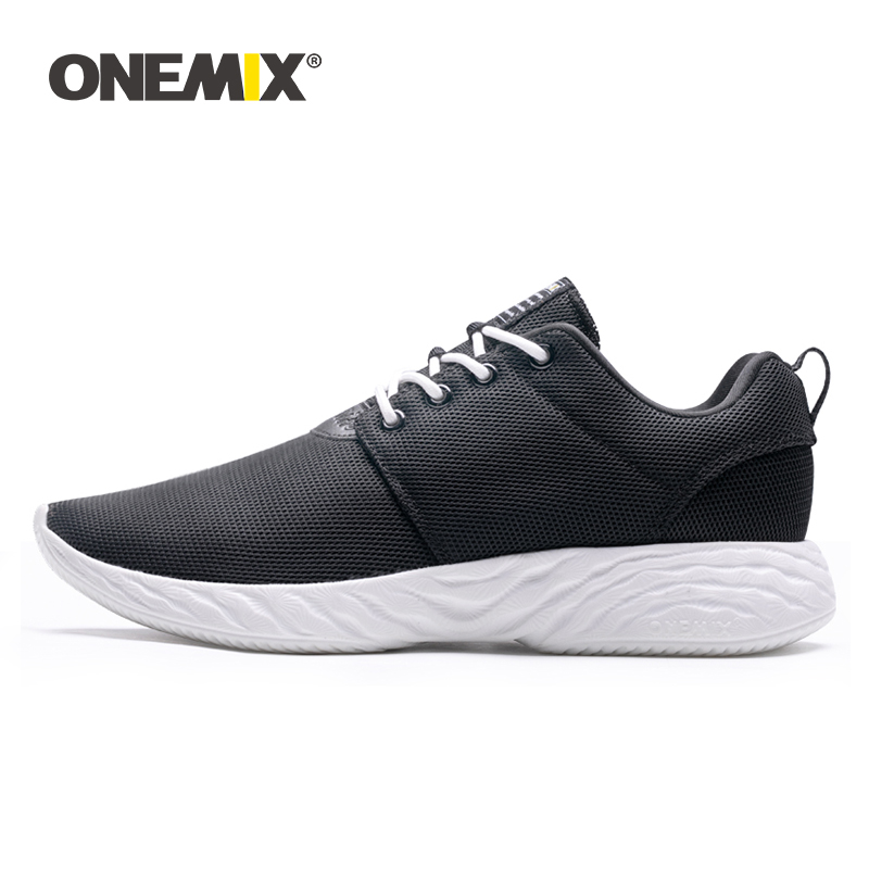 ONEMIX Fashion Men Women Running Shoes Light Weight Breathable Sport Sneakers Soft Damping Jogging Athletic Casual Walking Shoes